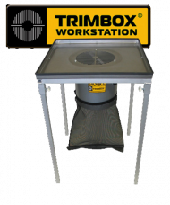 Trimbox leaf trimming machine