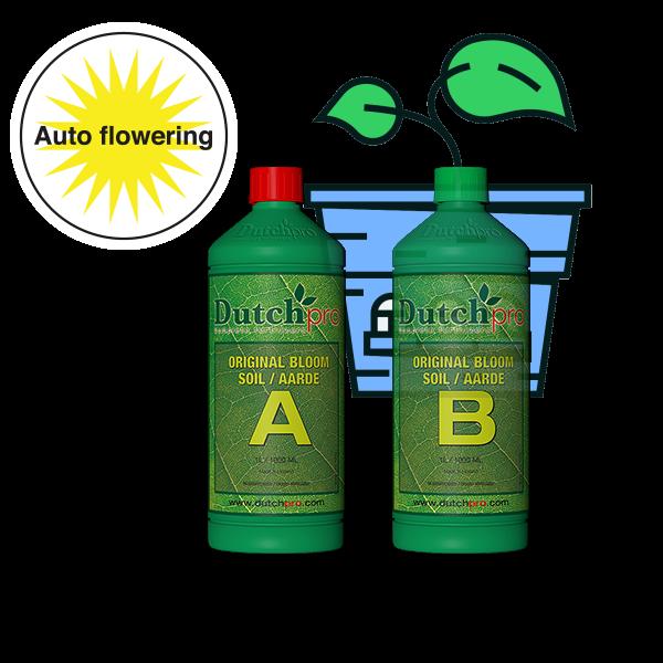 Dutchpro Original Aarde/Soil Bloom A+B Auto Flower 1L