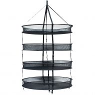 "LightHouse Round DryNet - 75 cm (30"") Black-6 Layers - Max.Load 21 kg/-3.5kg/Layer"